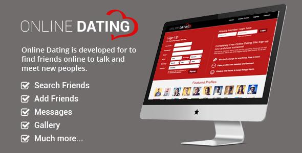 اسکریپت جامعه مجازی Online Dating نسخه 2