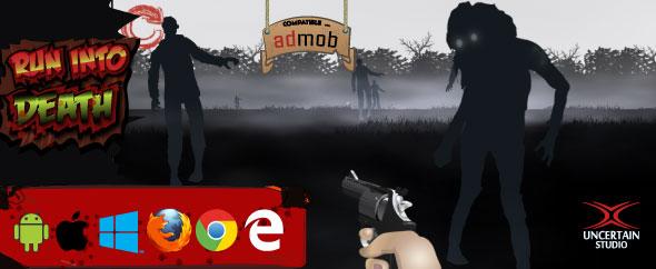 بازی آنلاین تیراندازی Run Into Death به صورت HTML5