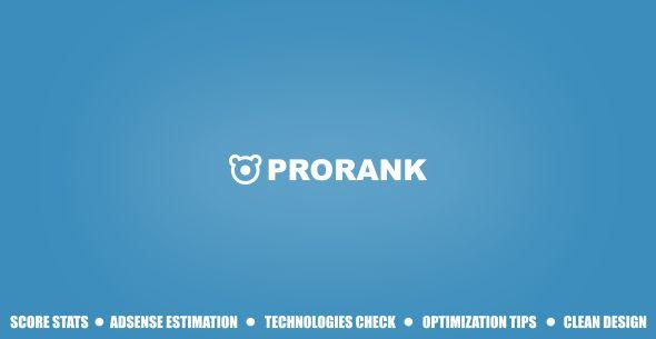 دانلود اسکریپت بررسی سئو وبسایت ProRank نسخه 1.0.3